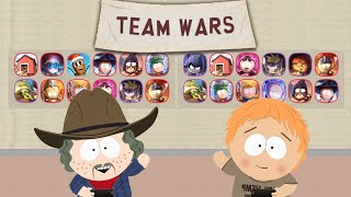 Team Wars #74 with both accounts | South Park Phone Destroyer