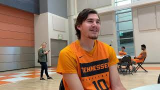 Tennessee Basketball Media Day -- John Fulkerson