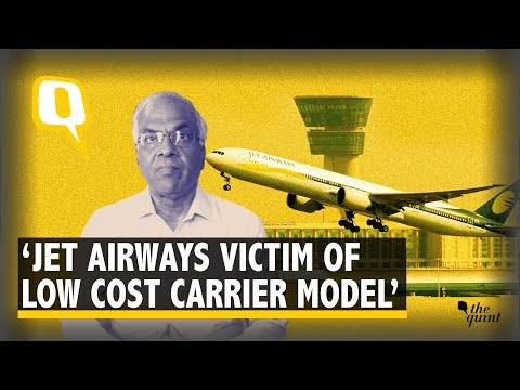 'Jet Airways Victim of Low Cost Carrier Model' | The Quint