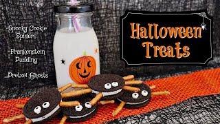 Halloween Treats for Kids || Spooktacular Collab 2018