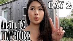 Austin, TX Tiny House | Day 2 | Airbnb Rental | Travel Vlog