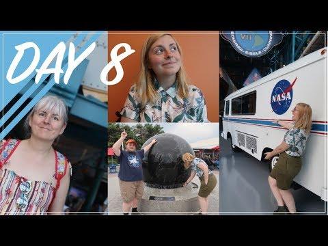 WALT DISNEY WORLD 2017 VLOG | DAY 8 - KENNEDY SPACE CENTRE