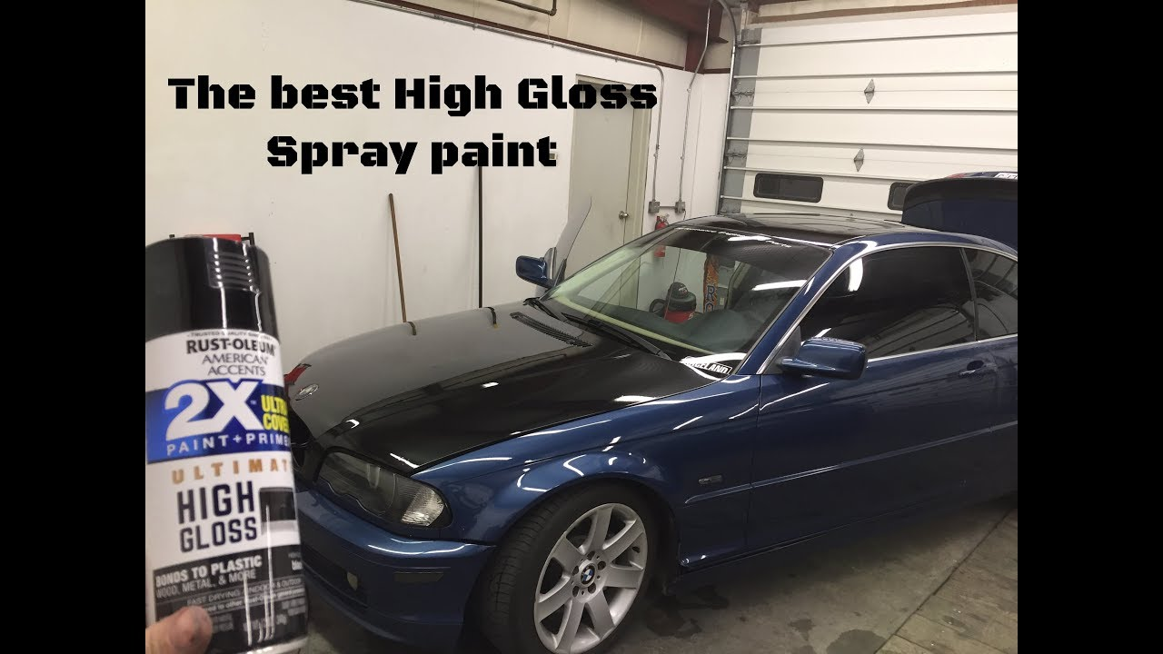 The Best Spray Can Paint For High Gloss Hood Has Imperfections