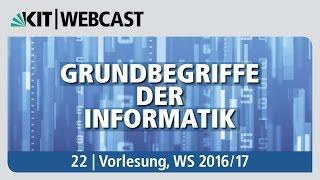 22: Grundbegriffe der Informatik, Vorlesung, WS 2016/17