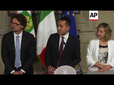 Law professor reportedly picked to be Italy's new prime minister