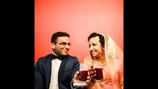 Cheers from the wedding story| Jazim & Rukiya started sharing their life