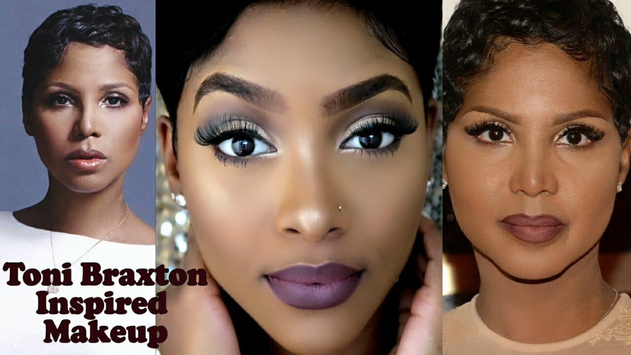 Toni Braxton Inspired Makeup 90s Throwback Petite Sue Divinitii