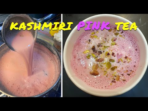 Kashmiri Tea - Noon Chai - Pink Tea - Gulabi Chai - Sheer Chai In Southhall, London (4K Ultra HD)