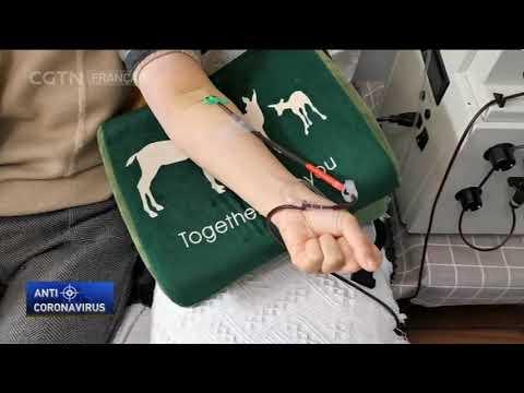 Le plasma sanguin de survivants utilisé dans le traitement