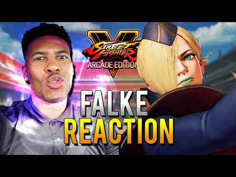 FALKE STREET FIGHTER 5 REACTION (SFV)