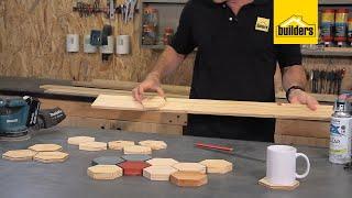 How to Make Hexągon Coasters