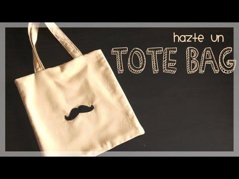 Como hacer un tote bag