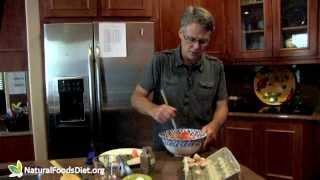 Healthy Recipe - Sweet Potato Pancakes With Organic Turkey Bacon