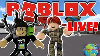 🌎 Roblox | LIVE Stream #205 | Mad City, Slaying Sim, Arsenal, Pet Ranch Sim and MORE!! 🌎