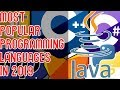 Most Popular Programming Languages in 20