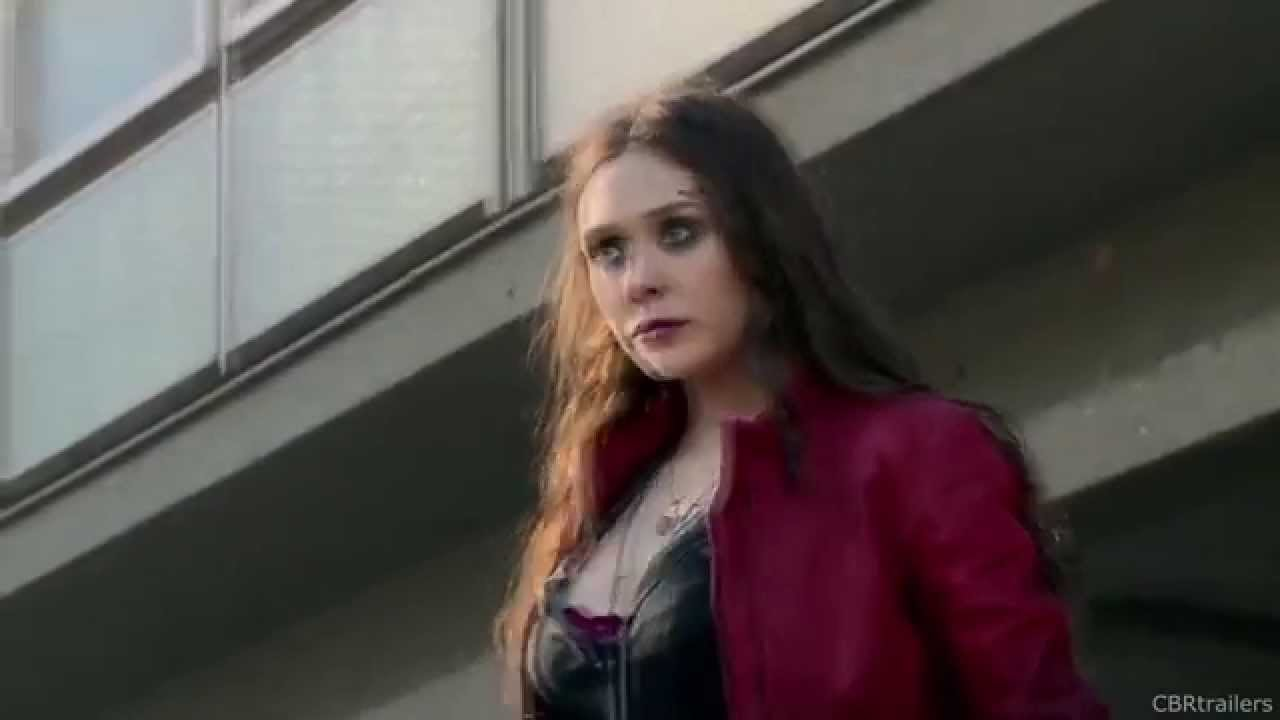 Avengers Age Of Ultron Featurette Sexy Scarlet Witch 2015 Marvel