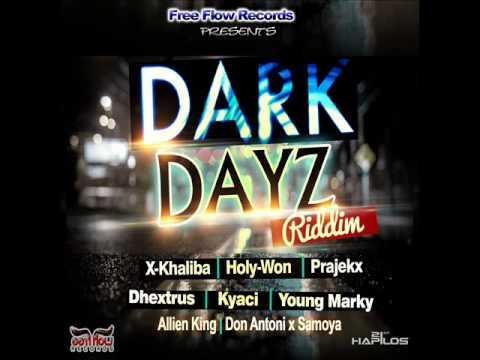 Dark Dayz Riddim [ Instrumental ] Version April 2015 @freeflowrecords