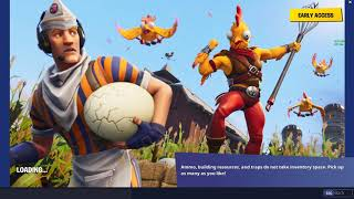 Fortnite | Secret in the Tender Defender Battle Pass Loading Screen