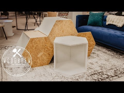 How To Make Transforming Hexagon Tables | DIY Modern Tables