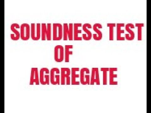 soundness test of aggregate pdf