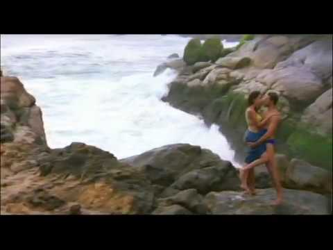 Mallika Sherawat and Himanshu Malik Kissing Scene - Khwahish - Hot Kissing Scene on beach