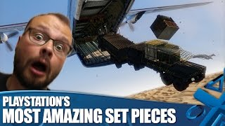 The 7 Most Amazing Action Set Pieces on PlayStation