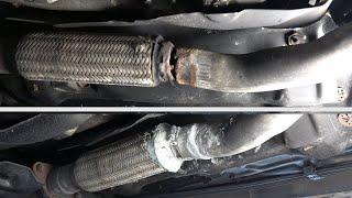 Réparer un pot d'échappement cassé (facilement SANS DEMONTAGE)