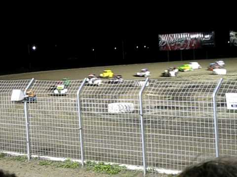 Legends Cars - Red River Valley Speedway - July 29, 2010