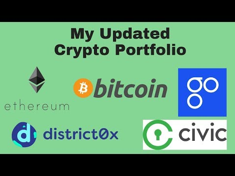 My Updated Crypto Portfolio  - Thoughts on fine-tuning strategies due to regulatory threats