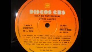 CYNDI LAUPER/ Ella es tan inusual (VINILO COMPLETO) - 1983