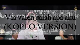 Cover images Via valen - salah apa aku | koplo version