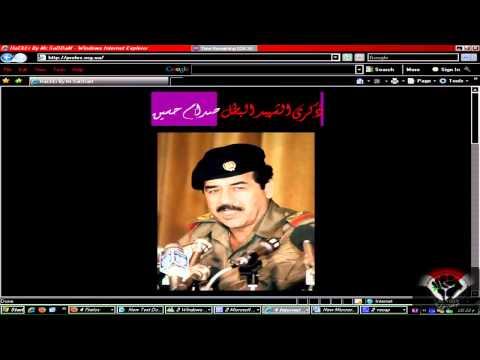 ذكرى صدام حسين HACKER BY MR.SADDAM SYRIAN HACKER