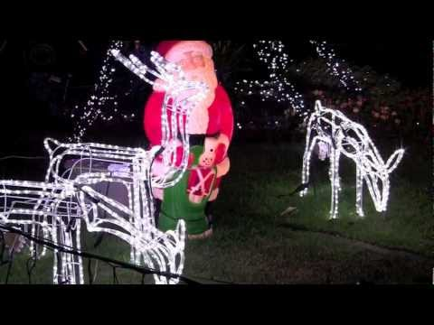 Beautiful Christmas Lights Displays on Houses in Sydney, Australia.  Рождественские огни Австралии.. - BEST CHRISTMAS LIGHTS PARADISE IN AUSTRALIA DISPLAY AWESOME - YouTube