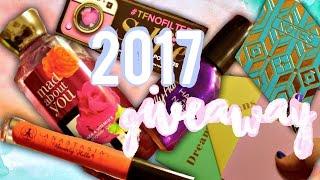 2017 International Giveaway!   Too Faced, Anastasia Beverley Hills, & More!   Courtney Graben
