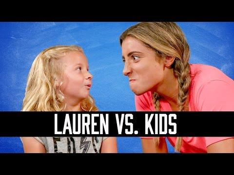LAUREN ELIZABETH VS. KIDS   HOW SMART IS LAUREN ELIZABETH