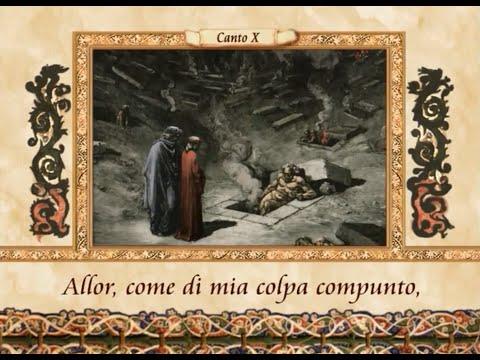 La Divina Commedia in VERSI - Inferno, canto X (10)