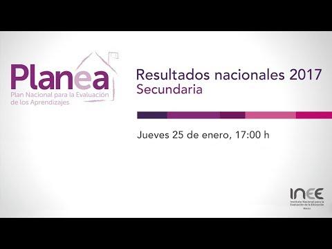 Resultados Nacionales 2017 De Planea 3º De Secundaria