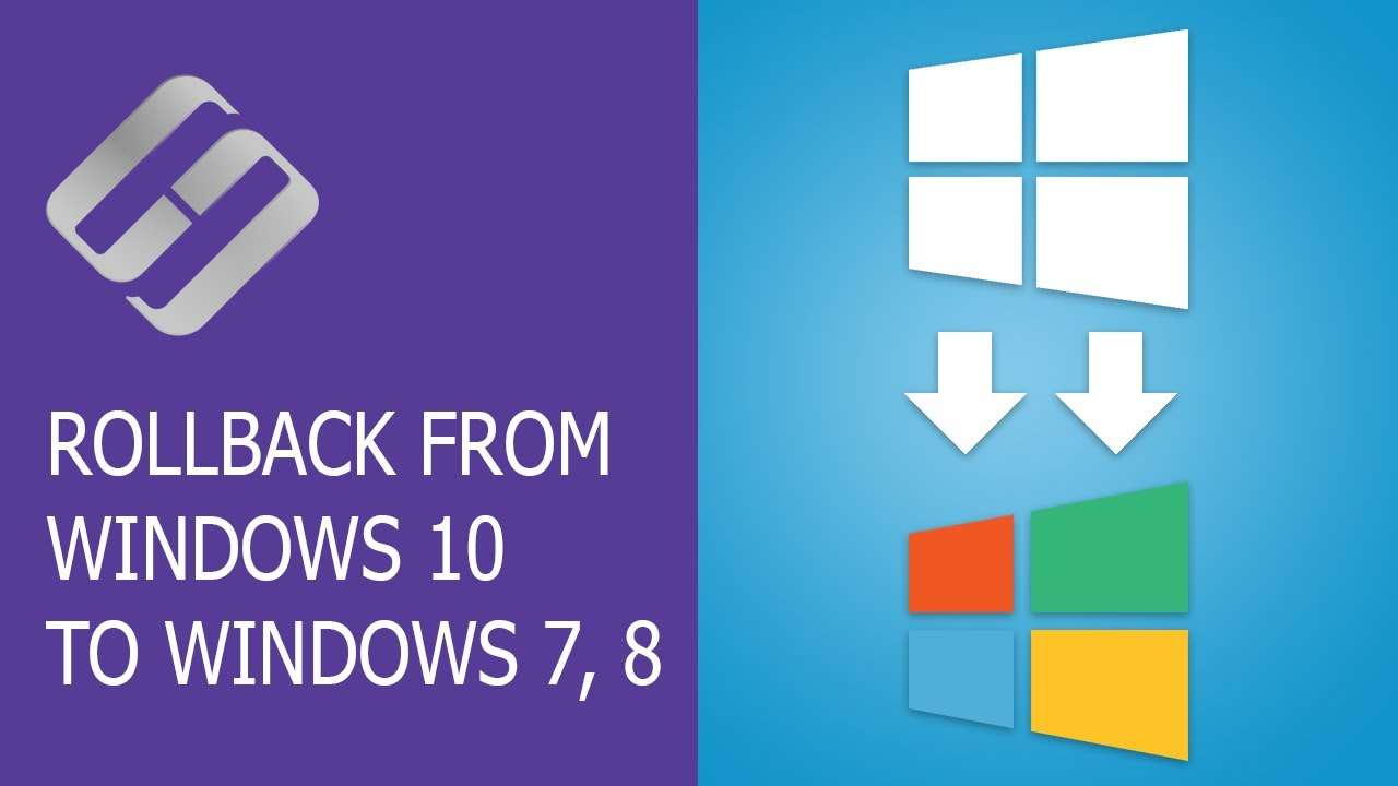 How to Rollback from Windows 10 to Windows 7 or 8 in 2019 🔄💻🤔