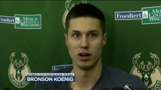 Koenig injured during Bucks pre-draft workout
