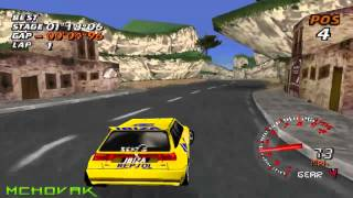 Need For Speed V Rally Playstation 1 gameplay