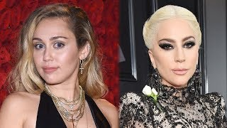 Miley Cyrus & Lady Gaga Secretly Working on COLLAB?