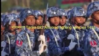 বাংলাদেশ বনাম মায়ানমার এর সামরিক শক্তি। দেখুন কে বেশি শক্তিশালী বাংলাদেশ নাকি মায়ানমার