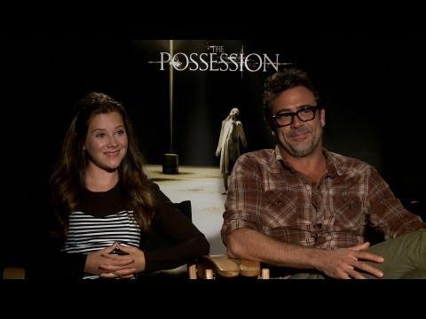 'The Possession' Jeffrey Dean Morgan and Natasha Calis