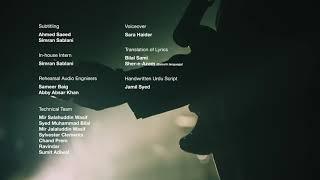 Coke Studio Season 11, Episode 9 - Aftab, End Credits