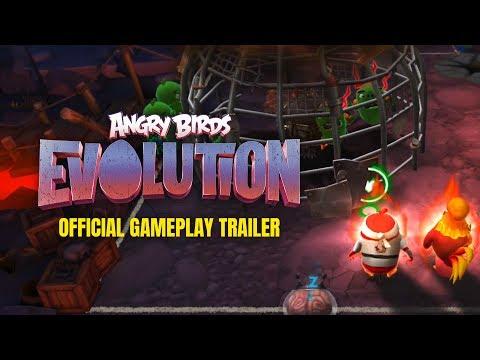 تحميل لعبة انجرى برد 2018 Angry Birds Evolution للاندرويد والايفون