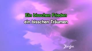 Karaoke Ein Bisschen Frieden - Nicole *