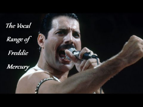 The Vocal Range of Freddie Mercury -- F2-F6 (A Chronological Vocal Showcase)