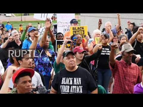 USA: Hundreds demand justice following acquittal of officer who shot Philando Castile
