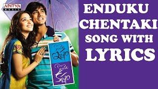Enduku Chentaki Full Song With Lyrics - Konchem Ishtam Konchem Kashtam Songs - Siddarth, Tamanna