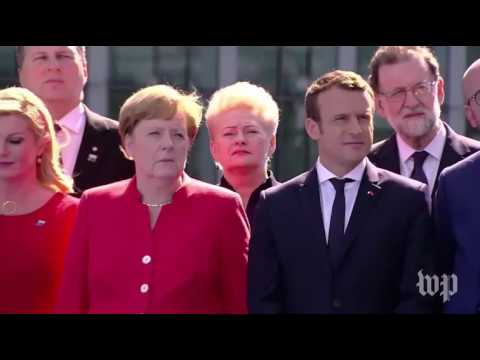 Trump chastises fellow NATO members, demands they meet payment obligations
